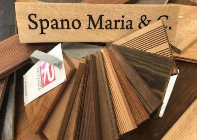 Decking Esposizione Spano Maria